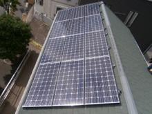 ソーラーパネル設置事例4