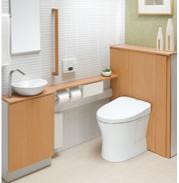 暖房付きトイレ